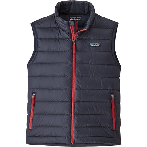 Patagonia Boys' Down Sweater Vest-68222_Black