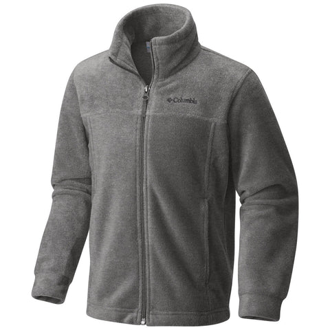 Boys Steens Mountain II Fleece Jacket-Columbia-Black-XS-Uncle Dan's, Rock/Creek, and Gearhead Outfitters