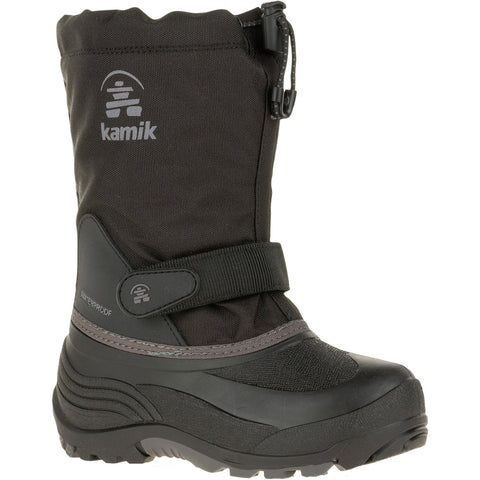 Kids Waterbug 5-Kamik-Black Charcoal-1-Uncle Dan's, Rock/Creek, and Gearhead Outfitters