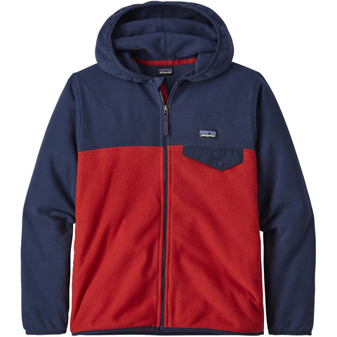 Boys' Micro D Snap-T Jacket-Patagonia-Fire-L-Uncle Dan's, Rock/Creek, and Gearhead Outfitters