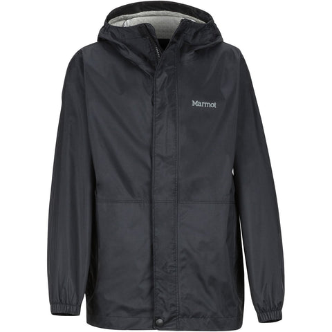 Boys' PreCip Eco Jacket-Marmot-Black-L-Uncle Dan's, Rock/Creek, and Gearhead Outfitters
