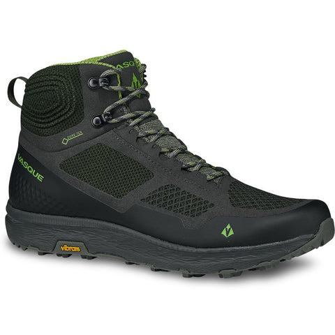 Men's Breeze LT GTX Hiking Shoe-Vasque-Beluga Lime Green-13-Uncle Dan's, Rock/Creek, and Gearhead Outfitters