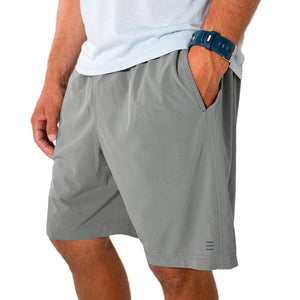 Men's Breeze Short-Free Fly-Cement-S-Uncle Dan's, Rock/Creek, and Gearhead Outfitters