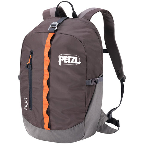 Bug Climbing Pack-Petzl-Grey-Uncle Dan's, Rock/Creek, and Gearhead Outfitters