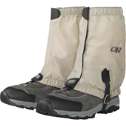 BugOut Gaiters-Outdoor Research-Tan-S-Uncle Dan's, Rock/Creek, and Gearhead Outfitters
