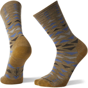 Men's Burgee Crew Socks-Smartwool-Desert Sand-M-Uncle Dan's, Rock/Creek, and Gearhead Outfitters