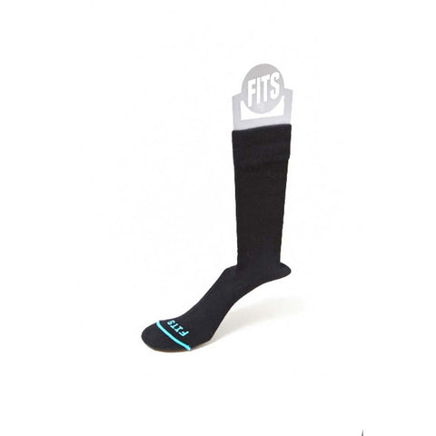 Business Crew Socks-FITS-Black-S-Uncle Dan's, Rock/Creek, and Gearhead Outfitters