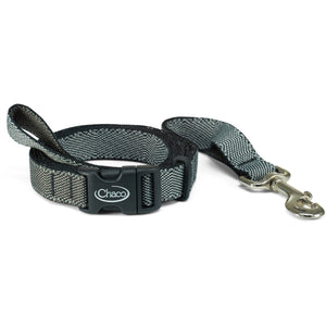 Dog Leash-Chaco-Excite B&W-S-Uncle Dan's, Rock/Creek, and Gearhead Outfitters