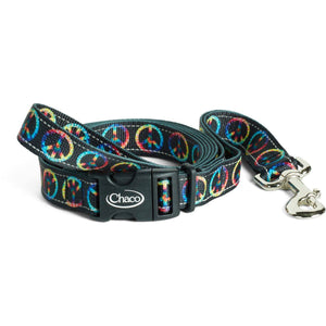 Dog Leash-Chaco-Peace Sign-S-Uncle Dan's, Rock/Creek, and Gearhead Outfitters