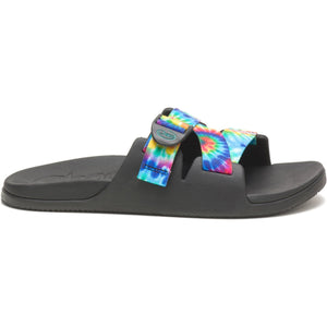 Men's Chillos Slide-Chaco-Dark Tie Dye-7-Uncle Dan's, Rock/Creek, and Gearhead Outfitters