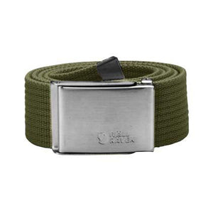 Canvas Belt-Fjallraven-Green-Uncle Dan's, Rock/Creek, and Gearhead Outfitters