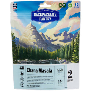 Chana Masala - Serves 2-Backpacker's Pantry-Uncle Dan's, Rock/Creek, and Gearhead Outfitters