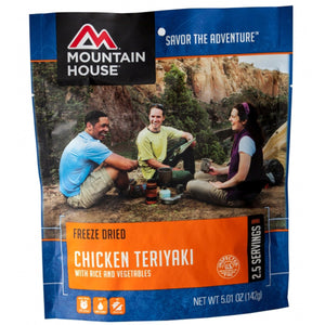 Chicken Teriyaki Single-Mountain House-Uncle Dan's, Rock/Creek, and Gearhead Outfitters