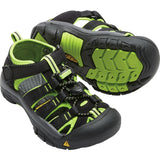 Little Kids Newport H2 Sandal-KEEN-Black Lime Green-8-Uncle Dan's, Rock/Creek, and Gearhead Outfitters