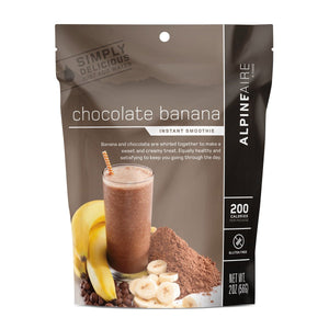Chocolate Banana Smoothie-AlpineAire-Uncle Dan's, Rock/Creek, and Gearhead Outfitters