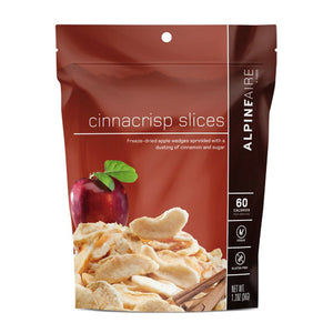 Cinnacrisp Slices-AlpineAire-Uncle Dan's, Rock/Creek, and Gearhead Outfitters