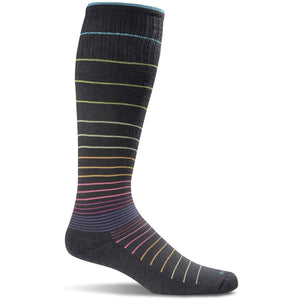 Women's Circulator Graduated Compression Socks-Sockwell-Black 2-S/M-Uncle Dan's, Rock/Creek, and Gearhead Outfitters