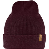 Classic Knit Hat-Fjallraven-Dark Garnet-Uncle Dan's, Rock/Creek, and Gearhead Outfitters