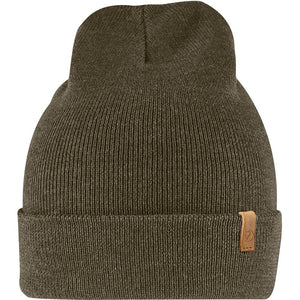 Classic Knit Hat-Fjallraven-Dark Olive-Uncle Dan's, Rock/Creek, and Gearhead Outfitters