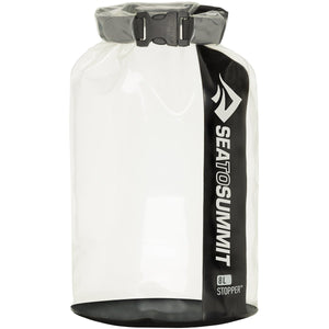 Clear Stopper Dry Bag - 8L-Sea to Summit-Black-Uncle Dan's, Rock/Creek, and Gearhead Outfitters