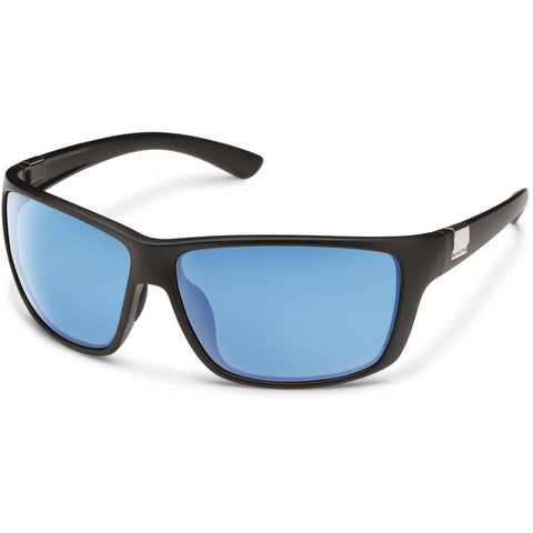 Councilman Sunglasses (Medium Fit)-Suncloud-Matte Black/Polarized Blue Mirror-Uncle Dan's, Rock/Creek, and Gearhead Outfitters