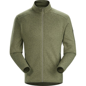 Men's Covert Cardigan-Arc'teryx-Arbour Heather-L-Uncle Dan's, Rock/Creek, and Gearhead Outfitters