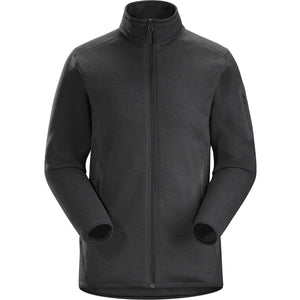 Women's Covert Cardigan-Arc'teryx-Black Heather-L-Uncle Dan's, Rock/Creek, and Gearhead Outfitters