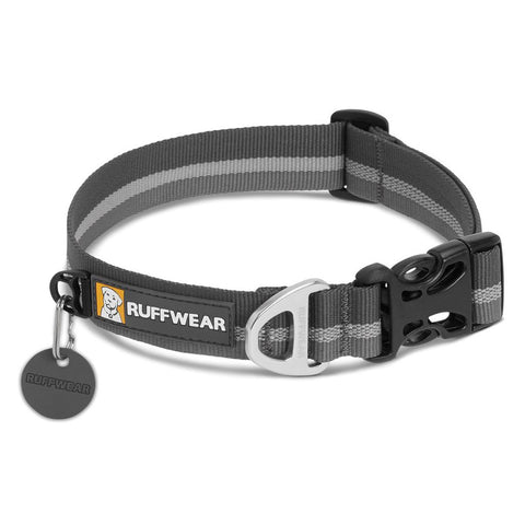 "Crag Collar-Ruffwear-Twilight Gray-14-20""-Uncle Dan's, Rock/Creek, and Gearhead Outfitters"