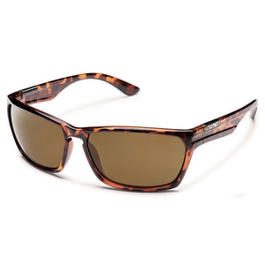 Cutout Sunglasses (Medium Fit)-Suncloud-Tortoise/Polarized Brown-Uncle Dan's, Rock/Creek, and Gearhead Outfitters