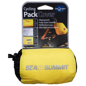 Cycling Pack Cover XS-Sea to Summit-Yellow-Uncle Dan's, Rock/Creek, and Gearhead Outfitters