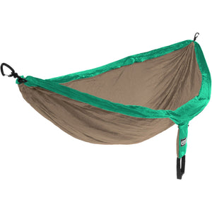 Eagles Nest Outfitters DoubleNest Hammock-DH019_Emerald/Khaki