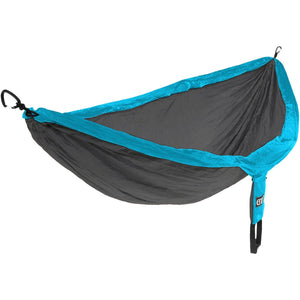 Eagles Nest Outfitters DoubleNest Hammock-DH058_Teal/Charcoal
