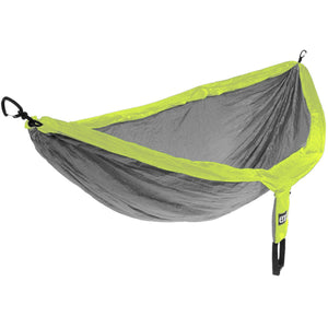 Eagles Nest Outfitters DoubleNest Hammock-DH076_Grey/Neon