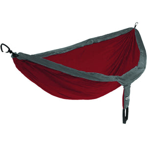 Eagles Nest Outfitters DoubleNest Hammock-DHREI02_Charcoal/Maroon