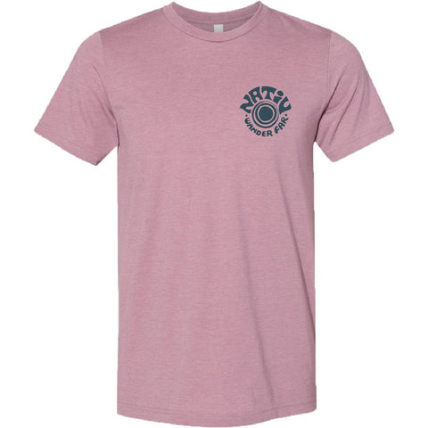 Dali Canyon Short Sleeve Tee-Nativ-Heather Orchid-L-Uncle Dan's, Rock/Creek, and Gearhead Outfitters