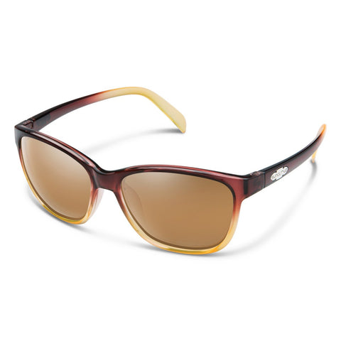 Dawson Sunglasses (Medium Fit)-Suncloud-Brown Fade/Polarized Sienna Mirror-Uncle Dan's, Rock/Creek, and Gearhead Outfitters