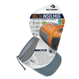 Delta Insul-Mug-Sea to Summit-Titanium Grey-Uncle Dan's, Rock/Creek, and Gearhead Outfitters