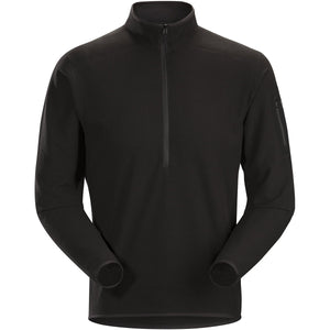 Men's Delta LT Zip Neck-Arc'teryx-Black-L-Uncle Dan's, Rock/Creek, and Gearhead Outfitters