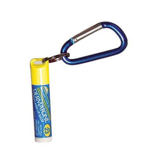 Medicated Lip Balm SPF 23 with Carabiner-Dermatone-Uncle Dan's, Rock/Creek, and Gearhead Outfitters