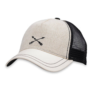 Dezi Trucker Hat-Pistil-Black-Uncle Dan's, Rock/Creek, and Gearhead Outfitters