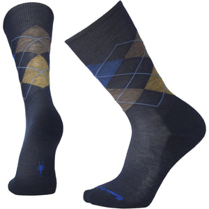 Men's Diamond Jim Socks-Smartwool-Deep Navy Heather Desert Sand Heather-XL-Uncle Dan's, Rock/Creek, and Gearhead Outfitters