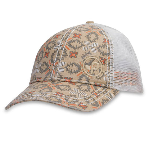 Diaz Trucker Hat-Pistil-Khaki-Uncle Dan's, Rock/Creek, and Gearhead Outfitters