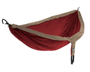 Doublenest + Insect Shield Hammock-Eagles Nest Outfitters-Khaki/Maroon-Uncle Dan's, Rock/Creek, and Gearhead Outfitters