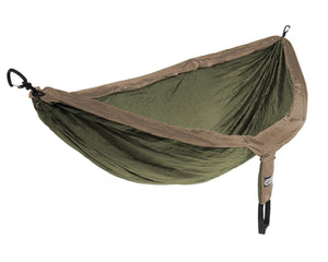 Doublenest + Insect Shield Hammock-Eagles Nest Outfitters-Khaki/Olive-Uncle Dan's, Rock/Creek, and Gearhead Outfitters