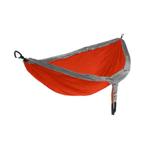 Doublenest + Insect Shield Hammock-Eagles Nest Outfitters-Orange/Grey-Uncle Dan's, Rock/Creek, and Gearhead Outfitters