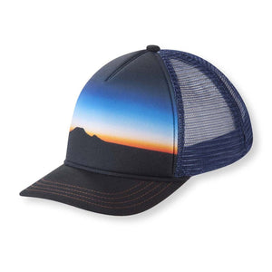 Dusk Trucker Hat-Pistil-Navy-Uncle Dan's, Rock/Creek, and Gearhead Outfitters