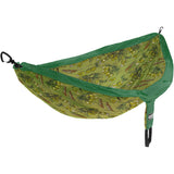 DoubleNest Print Hammock-Eagles Nest Outfitters-Hops/Jade-Uncle Dan's, Rock/Creek, and Gearhead Outfitters