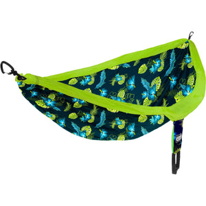 Eagles Nest Outfitters DoubleNest Print Hammock-DP261_Aloha/Green
