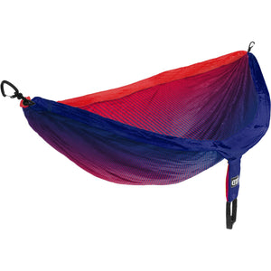 Eagles Nest Outfitters DoubleNest Print Hammock-DP301_Fade/Red/Sapphire