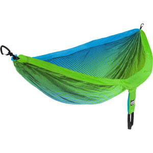 Eagles Nest Outfitters DoubleNest Print Hammock-DP302_Fade/Teal/Chartreuse